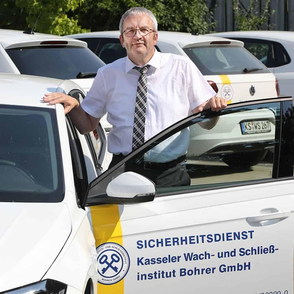 Einsatzleiter Udo Hillebrand - Kasseler Wach- und Schliessinstitut Bohrer GmbH Kassel